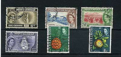Montserrat.6--1953/65 Mounted Mint/ Used Stamps On Stockcard