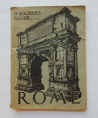 A Soldier's Guide to Rome Italy (1946)