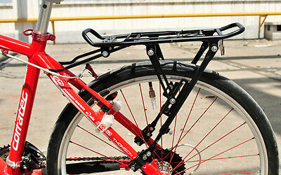 Heavy Duty Strong Alloy Rear Bicycle Pannier Bag/luggage Rack Bike/cycle 25Kg Uk