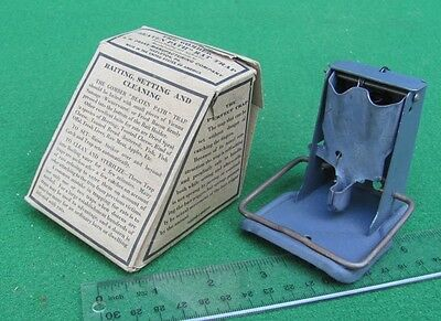 """Gomber """"Beaten Path""""  Mouse / Rat Trap  Antique Small Rodent Kill Trap    LS/NR"""
