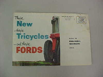 Vintage Ford Tricycle Tractor Brochure (700 & 900 Series)