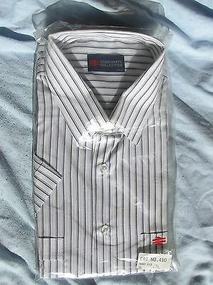 British Railways Uniform Shirt + Double Arrow - Brand New In Pack - Size 17 1/2