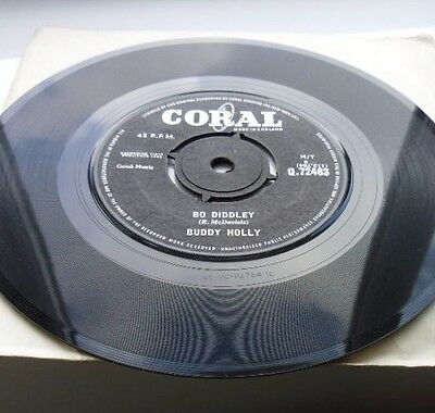 """BUDDY HOLLY""""Bo Diddley"""" EXCELLENT CONDITION"""