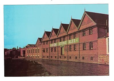 Postcard, Joules Brewery, Market Drayton From Canal