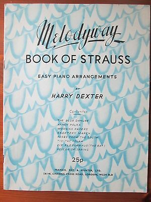 Book of Strauss Easy Piano Arrangements -  Sheet Music