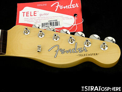 Fender Classic Player Baja 60s Telecaster NECK + TUNERS Tele Rosewood SALE!