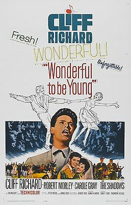 "Cliff Richard Wonderful to be Young 16"" x 12"" Photo Repro Film Poster"