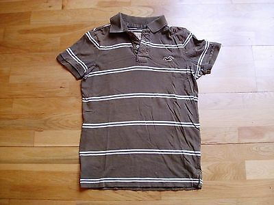 Mens HOLLISTER polo shirt top size S good condition