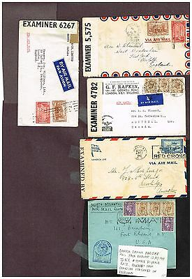 Canada Censored Airmail Wwii    (Ct15