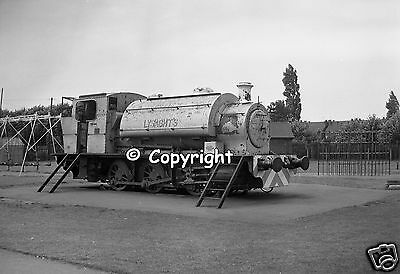 Railway Negative Industrial Steam Loco RSH №7035 Lysaght Scunthorpe Jubilee Park