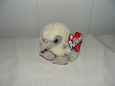 """Puffkins SWOOP The Falcon 3"""" Tall Plush W/ Tags"""