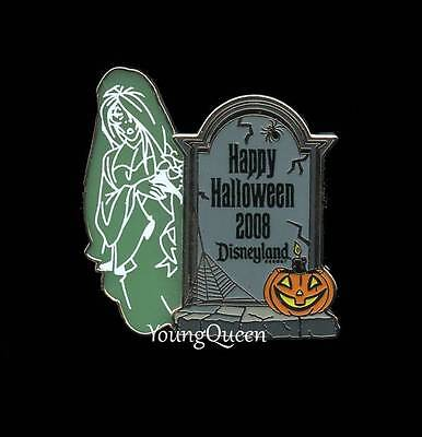 Disney Haunted Mansion Tombstone Halloween Little Leota Transparent Le Pin