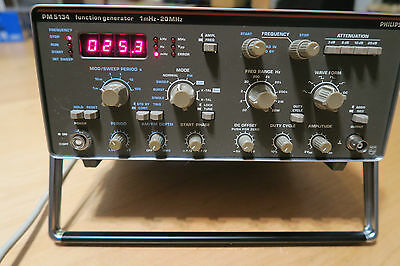 Phillips PM5134 Funktionsgenerator 1mHz - 20MHz