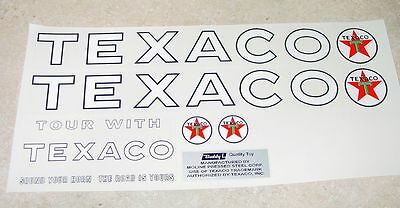 Buddy L Texaco Tanker Semi Sticker Set         BL-033