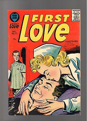 First Love Illustrated # 71    ( 1956 )    Harvey Pub.   Sharp Copy!