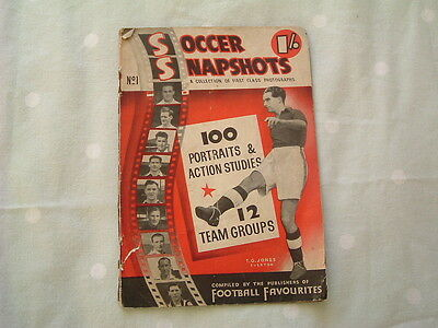 Soccer Snapshots No 1 - Football Portraits & Team Groups Booklet 1948