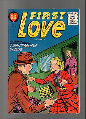 First Love Illustrated # 57    ( 1955 )    Harvey Pub.   Sharp Copy!