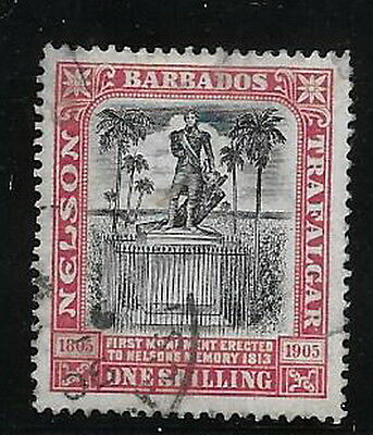 Barbados. 1906. Nelson. 1/-. SG151. Used.