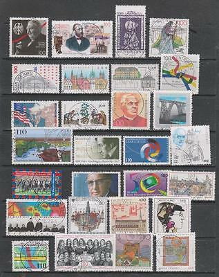 GERMANY - 28 x Used Stamps - Late 1990s Period