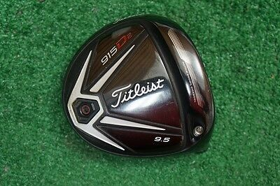 Titleist 915 D2 9.5* Driver Head Only Good Condition 406112