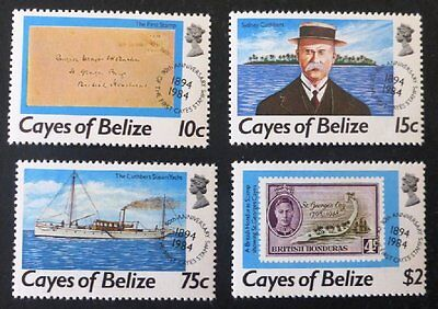 1984 Cayes of Belize Stamp Set MNH '90 Anniversary' No WM-811.