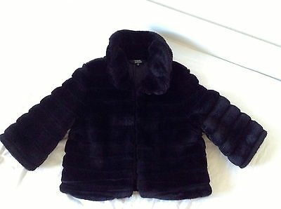 BNWT absolutely stunning fur Jacket/coat of STAR by Julian McDonald age 14