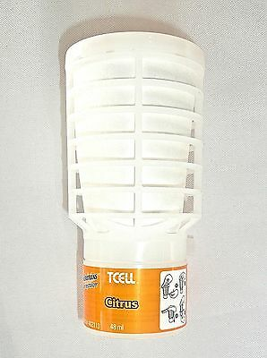 Citrus Scent TCell Rubbermaid Air Freshener Odor Control Refill 402113  NEW