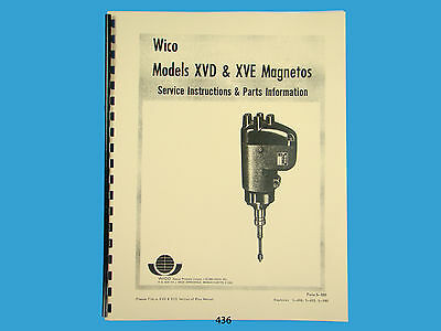 WICO MAGNETO TYPE Ek Service Instruction Parts Manual