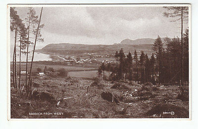 Brodick From West Isle Of Arran 15 Apr 1922 Ribbeck's Series Valentines 88417