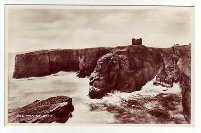 Old Man Of Wick Caithness Photo Taken 1891 Real Photograph Valentines 14275
