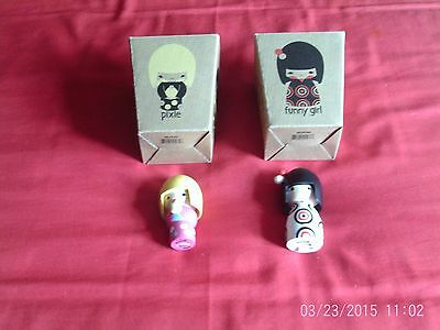 Momiji dolls - 'Funny Girl' and 'Pixie'