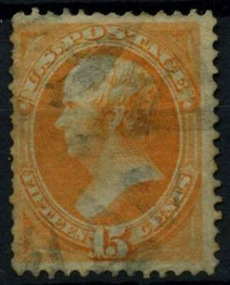 USA 1870-1879, 15c Webster No Grill Used #D39819