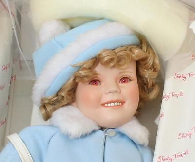 Beautiful Vintage Danbury Mint Shirley Temple Collectors Doll - Sunday Best