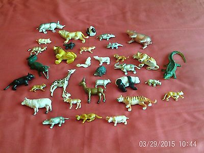 Zoo animals and Dinosaurs - total of 49