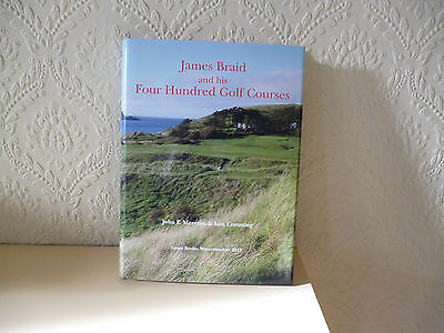James Braid and his 400 golf courses book