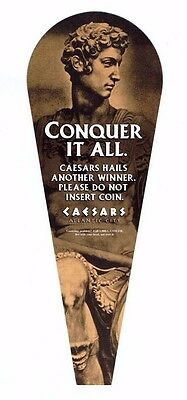 CAESARS HAILS Another WINNER / Jackpot Sign Casino ATLANTIC CITY ~ FREE SHIPPING