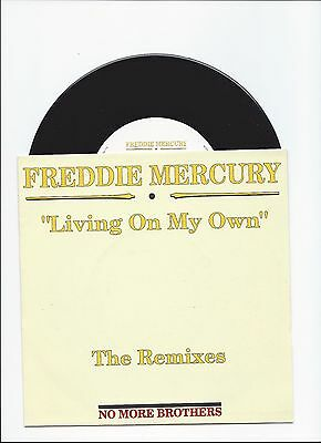 Freddie Mercury Queen Living On My Own The Remixes Single From Belgium