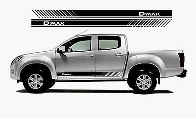 ISUZU D-MAX Side Graphics Stickers Decals 2 *(Any Colour)