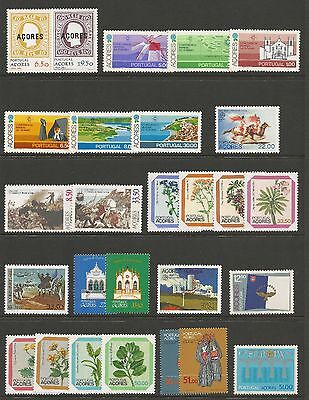 Azores 1980/2002  Selections Of Sets & Singles (82)  Mnh**