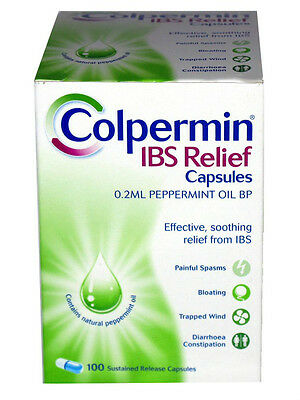 Colpermin Pack of 100 IBS capsules