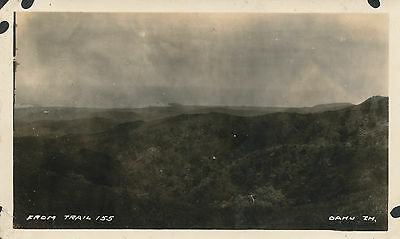 1924 view from trail 155 Oahu Hawaii Photo