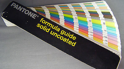 Pantone Formula Color Guide Solid Uncoated 2005 Third Edition Matching System