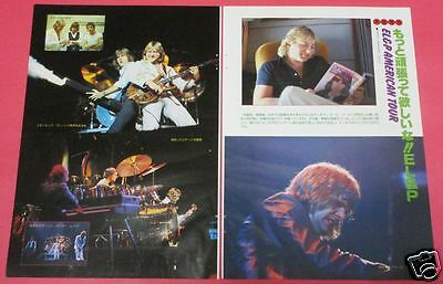 Emerson Lake & Palmer Uk Judas Priest 1978 Clipping Japan Magazine Os 7A 4Page