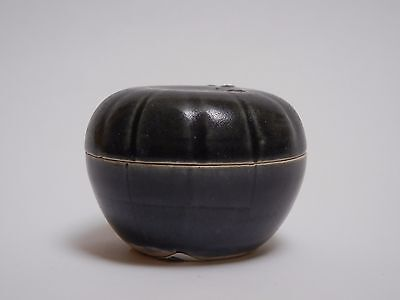 Hoi An - 15th Century -Monochrome/ Blue Glaze Covered Box - Perfect Lustering