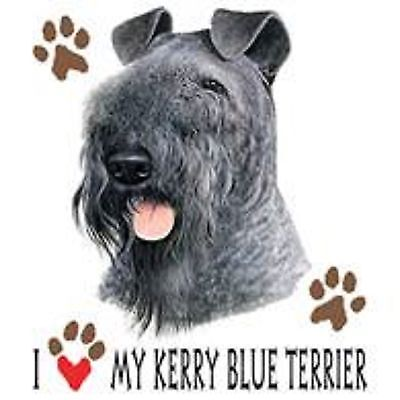 Kerry Blue Terrier Love Tote
