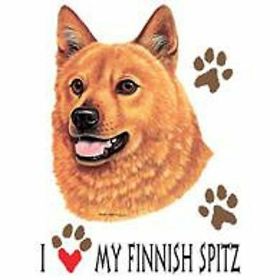 Finnish Spitz Love Tote