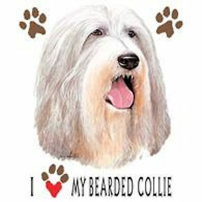 Bearded Collie Love Tote