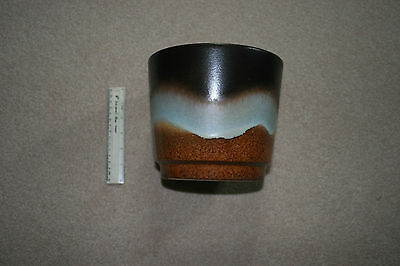 W.Germany, Lava plant pot, 1970s vintage. undamaged. 8in tall, appx