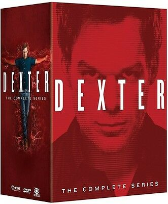 Dexter: The Complete Series - 32 DISC SET (2015, REGION 1 DVD New)