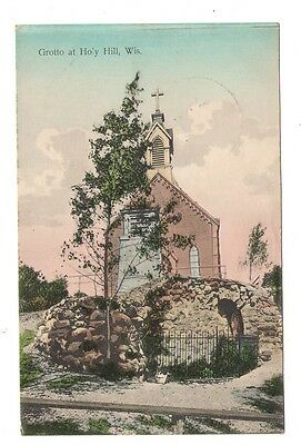 postcard Holy Hill Wisconsin WIS WI